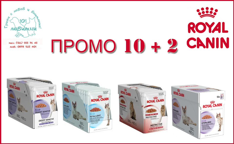 promo royal canin pouch